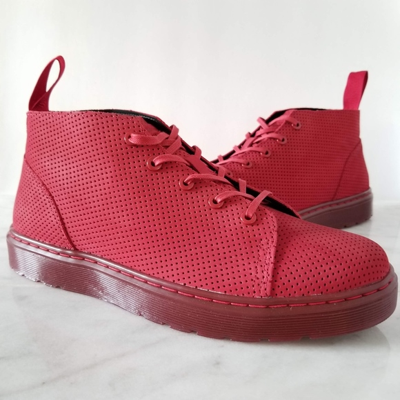 b55a4d43e98f4 Dr. Martens Other - Dr. Martens Baynes Chukka Boot Sneaker Red Suede